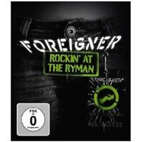 "FOREIGNER ""ROCKIN' AT THE RYMAN"" BLU RAY NEU"
