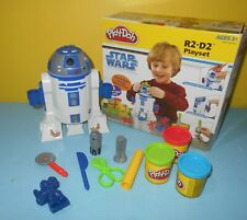 2009 Play-Doh Play Doh Star Wars the Clone Wars R2-D2 Playset Complete with Box