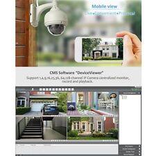 Wireless IP Camera Dome IR Night Vision WiFi IR-Cut Outdoor Security Cam MC