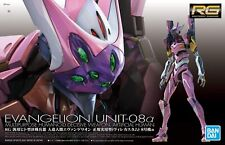 RG Real Grade Neon Genesis Evangelion Unit EVA-08 Alpha 1/144 model kit Bandai