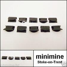 Classic Mini Door Chrome Weather Strip OUTER Clip Set Of 10 weatherstrip trim