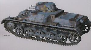 German WWII Pz.Kpfw.I Ausf.B PANZER IB TAKOM Kit #1010 BIG 1/16 w/PE BRAND NEW
