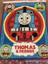 Thomas the Tank Engine Quilted Wall Hanging with matching and window valances