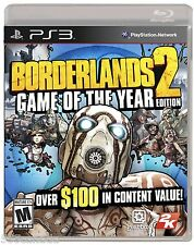 Borderlands 2 Game of the Year Edition GOTY (Sony PlayStation 3, 2013) BRAND NEW