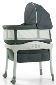 Graco Baby Sense2Snooze Bassinet with Cry Detection Technology Ellison New