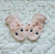 NWOT Pink Animal Toddler Mittens 2T