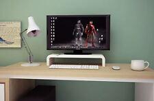 [LARGE CAP] Elevated Monitor Riser Platform Shelf Stand for Apple iMac - Black