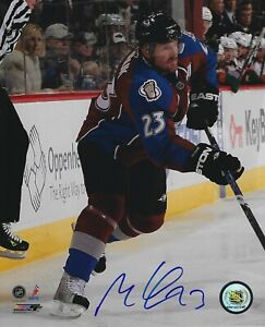 Milan Hejduk Autographed Signed 8x10 Photo - Colorado Avalanche NHL - w/COA