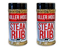 Killer Hogs Steak Barbecue Seasonings - 16 oz (2 Pack)
