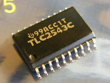 Tlc2543cdw 12bit adC with serial control and 11 analógico inputs, Texas Instruments