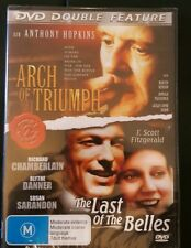 Dvd Double Feature Arch of Triumph and The Last Belles Factory Sealed