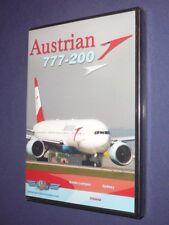 JUST PLANES COCKPIT VIDEO DVD          AUSTRIAN    777-200       new & sealed