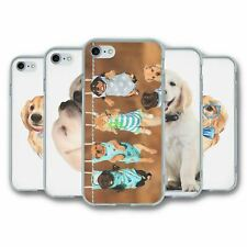 For iPhone 7 & 8 Silicone Case Cover Dogs Collection 5