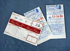 Air Canada First Class boarding pass