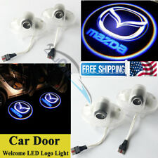 2 PCS LED Door Projector Courtesy Laser Shadow Light for for Mazda 6 8 RX-8 CX-9