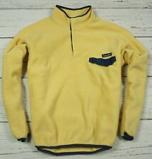 PATAGONIA PULLOVER FLEECE JACKET MEN'S COAT POCKET VINTAGE Size L