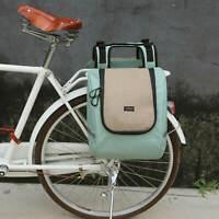 Tourbon Nylon Bike Pannier Rear Detachable Large Picnic Cooler Bag Set Tote Bag