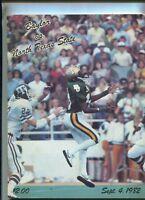 Sept.4,1982 Baylor Vs North Texas State   Football Program MBX105