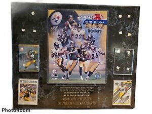 2004 Pittsburgh Steelers Afc North Division Champions Plaque