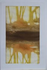 """Ruth Rodman, """"Reflections,"""" Collagraph"""