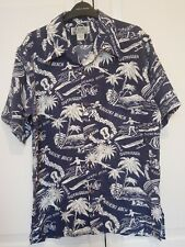 Avanti Silk Original Hawaii Hawaiian Shirt Vintage size Small