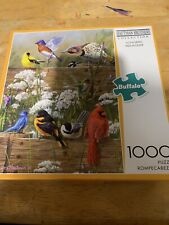 """Hautman Brothers Collection """"Songbird Menagerie"""" 1000 Piece  Jigsaw Puzzle"""