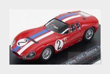 Maserati Tipo 151/3 #2 Le Mans 1964 Simon Trintignant EDICOLA 1:43 MASCOL011