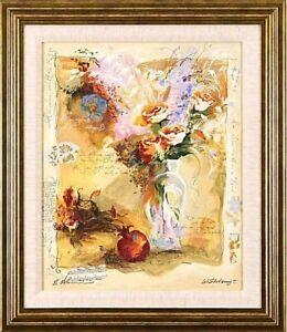 Alexander Galtchansky & Tanya Wissotzky-Untitled(2)-Framed LE Serigraph/Signed