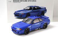 1:18 AUTOart Nissan Skyline GT-R R32 Plain Body blue NEW bei PREMIUM-MODELCARS