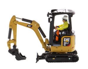 Caterpillar 1/50th 301.7 CR Next Generation Mini Hydraulic Excavator W/Work Tool
