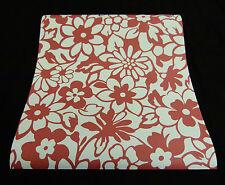 """8826-39-6) 1 Rolle super Design Papier Tapete """"Samba"""" Retro Blumen Dekor"""