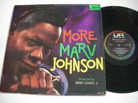 SHIGGIES Marv Johnson More Marv Johnson 1960 Mono LP