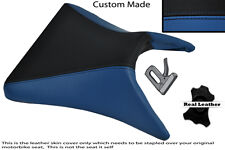 BLACK & ROYAL BLUE CUSTOM 03-04 FITS KAWASAKI NINJA ZX6R FRONT SEAT COVER