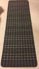 Floor Runner  Hall Rug 2'x 6' ft Non-Slip Mat Carpet Black, Gray & Taupe Design