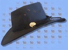 Outback Australian Black W/PROOF CANVAS Hat by CUTANA