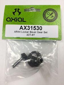 NEW! AXIAL AR44 LOCKER BEVEL GEAR SET 30T-8T. PART# AX31530  SCX10 AX10 SCX10 II