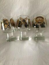 Vintage Beer Glasses 3 - Schlitz, Pabst, Miller, Ballantine and Lowenbrau