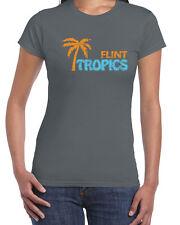 155 Flint Tropics women's T-Shirt basketball movie costume pro semi pro vintage