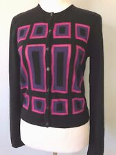 **42*8*M* GIANNI VERSACE knit wool angora Cardigan Sweater Top Jacket made ITALY