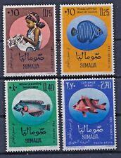 Somalia 35/38 postfrisch / Fische (6814) .......................................