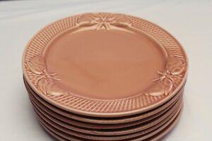 BORDALLO PINHEIRO PINK BUNNY RABBIT LUNCHEON SALAD DESSERT PLATE