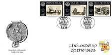 """GB Local stamps: Isle of Islay (2019): """"Lords of the Isles"""" first day cover"""