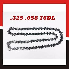 "Chainsaw Chain Replacement .325 .058 76DL for 20"" Bar Replacement Spare Parts"