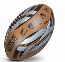RUGBY 2015 WORLD CUP LEATHER BALL ALL TEAM EMBLEMS AND GROUPS