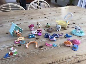 LPS Littlest Pet Shop Bundle Figures, Clothes And Accessories
