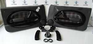 Genuine MINI 5 Piece Interior & Door Card Trim Kit (Black) R50 R53 R52