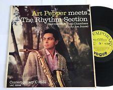 Art Pepper Meets the Rhythm Section Original Mono C3532 Nice Copy !!!