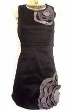 Robe ♥ VIRGINIE ET MOI ♥ Taille S  34 36 soirée cocktail chic noir et gris