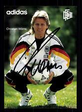 Christian Wörns  DFB Autogrammkarte 1992 Original Signiert +A 125386