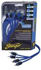Brand New Stinger RCA Interconnect Cable 4-Channel 6000 Series 17 Feet SI6417
